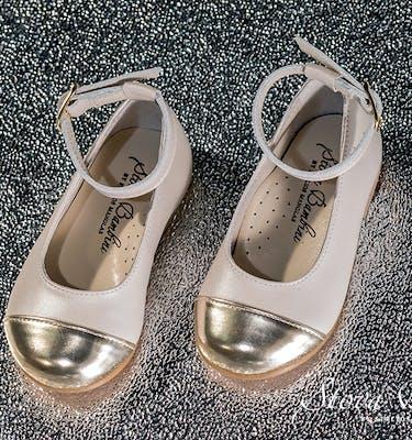 Βαπτιστικά Παπούτσια SS2021 Ballerines Mirror Gold