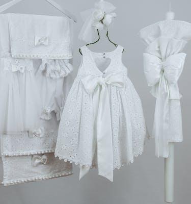 Βαπτιστικό Φόρεμα Avgi 9304