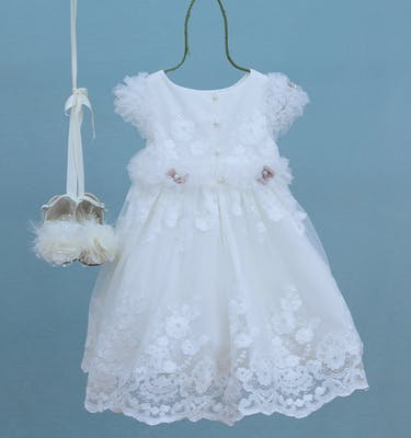 Βαπτιστικό Φόρεμα Chrysanthi 9307