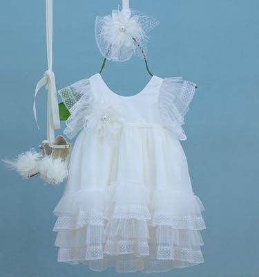 Βαπτιστικό Φόρεμα Foteinoula 9331