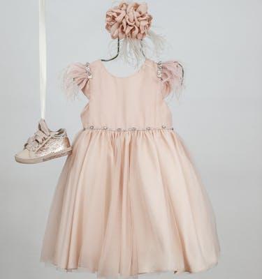 Βαπτιστικό Φόρεμα Kiki 9311
