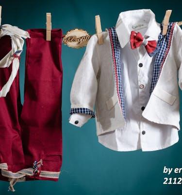 Βαπτιστικό Κοστούμι 21124 By Erofili