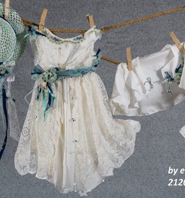 Bαπτιστικό Φόρεμα 21201 By Erofili