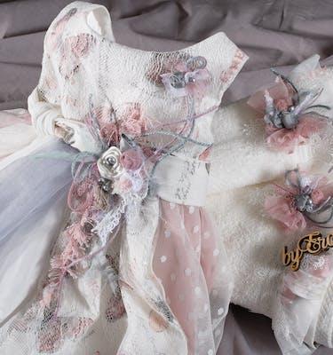 Βαπτιστικό Φόρεμα 21212 By Erofili