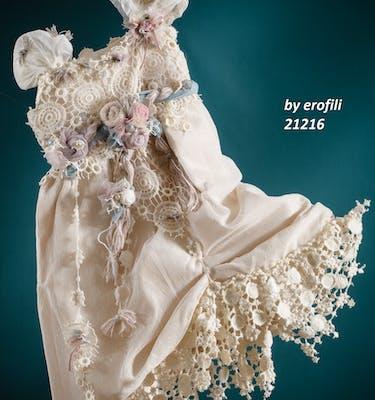 Βαπτιστικό Φόρεμα 21216 By Erofili