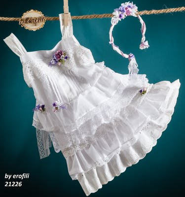 Βαπτιστικό Φόρεμα 21226 By Erofili