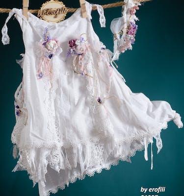 Βαπτιστικό Φόρεμα 21227 By Erofili