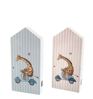 Ξύστρα πόρτα Καμηλοπάρδαλη