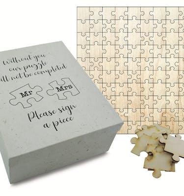 Puzzle Ξύλινο Τυπωμένο 48x48 100 Κομμάτια Με Κουτί
