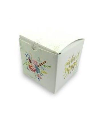 Κουτί Τετράγωνο 6x6x6 Εκτύπωση Σε Όλο Το Κουτί