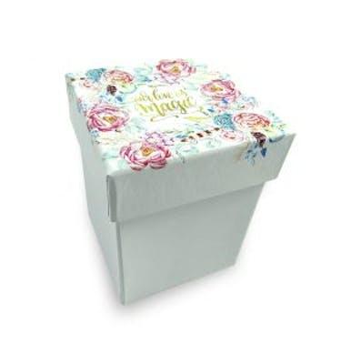 Κουτί 6x6x9 Εκτύπωση Στο Καπάκι