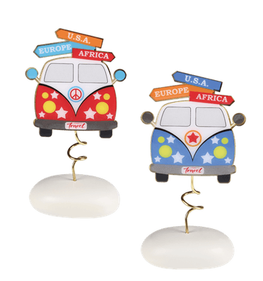 Μπομπονιέρα Βάπτισης Αυτοκινητάκι Ταξίδι σε Βότσαλο