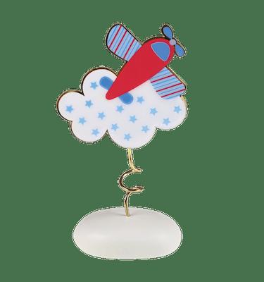 Μπομπονιέρα Βάπτισης Αεροπλανάκι Σύννεφο σε Βότσαλο