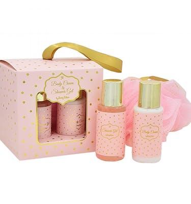 Αφρόλουτρο & κρέμα σώματος ροζ χρυσό