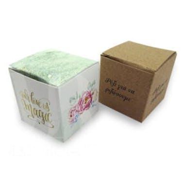 Κουτί Ρυζιού 4x4x4 Εκτύπωση Σε Όλο Το Κουτί