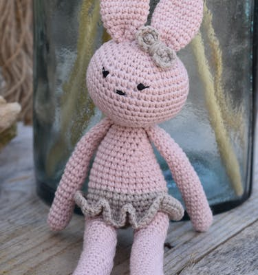 Χειροποίητο Πλεκτό Knitted Bunny
