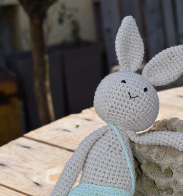 Χειροποίητο Πλεκτό Smith Knitted Hare