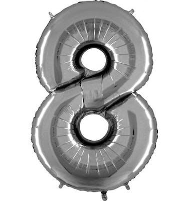 Μπαλόνι Foil Aριθμός 8