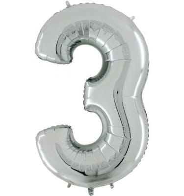 Μπαλόνι Foil Aριθμός 3