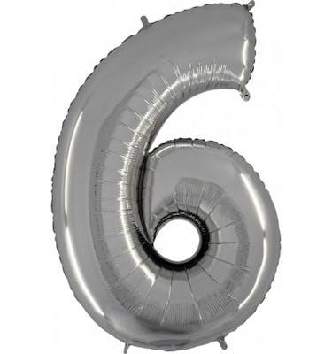 Μπαλόνι Foil Aριθμός 6