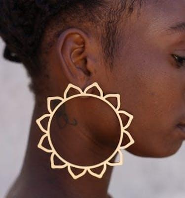 """Σκουλαρίκια """"Sunflower"""""""