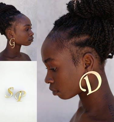Σκουλαρίκια Monogram
