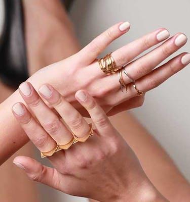 """Δαχτυλίδια """"The Knot"""" Ring"""