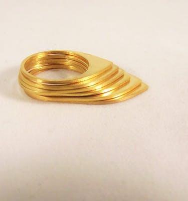 """Δαχτυλίδια """"Peaks"""" Ring Set"""