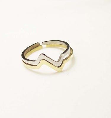 """Δαχτυλίδια """"Heartbeat"""" Ring"""