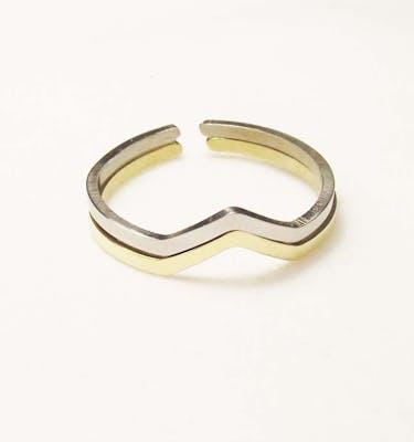 """Δαχτυλίδια """"Chevron"""" Skinny Ring"""