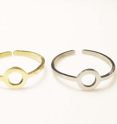 """Δαχτυλίδια """"o"""" Skinny Ring"""