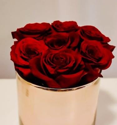 Τριαντάφυλλα σε Rosegold Κασπώ