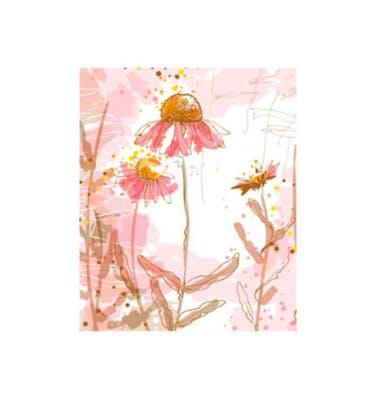 Ευχετήρια Κάρτα Χωρίς Μήνυμα Pastel Pink