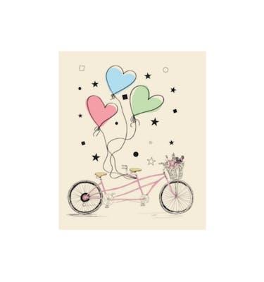 Ευχετήρια Κάρτα Χωρίς Μήνυμα Bike