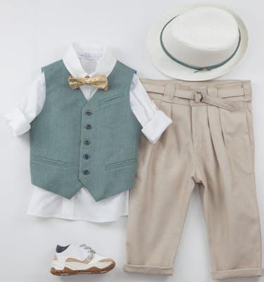 Βαπτιστικό Κοστούμι Carmelo 9446