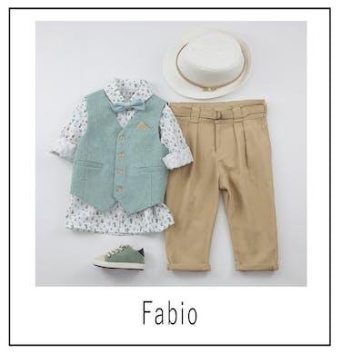 Βαπτιστικό Κοστούμι Fabio 9438