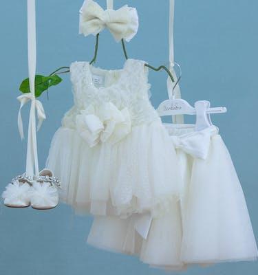 Βαπτιστικό Φόρεμα Kyveli 9364