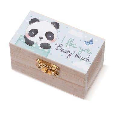 Ξύλινο Σεντούκι Panda