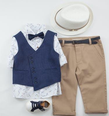 Βαπτιστικό Κοστούμι Lampros 9415