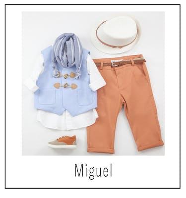 Βαπτιστικό Κοστούμι Miguel 9454