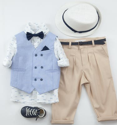 Βαπτιστικό Κοστούμι Mimakos 9427