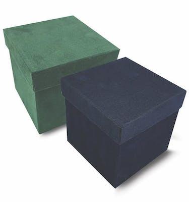 Κουτί Βελουδόχαρτο 14*14