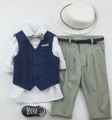 Βαπτιστικό Κοστούμι Zisis 9407
