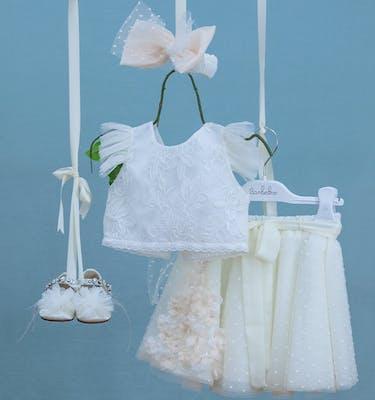 Βαπτιστικό Φόρεμα Zizel 9367