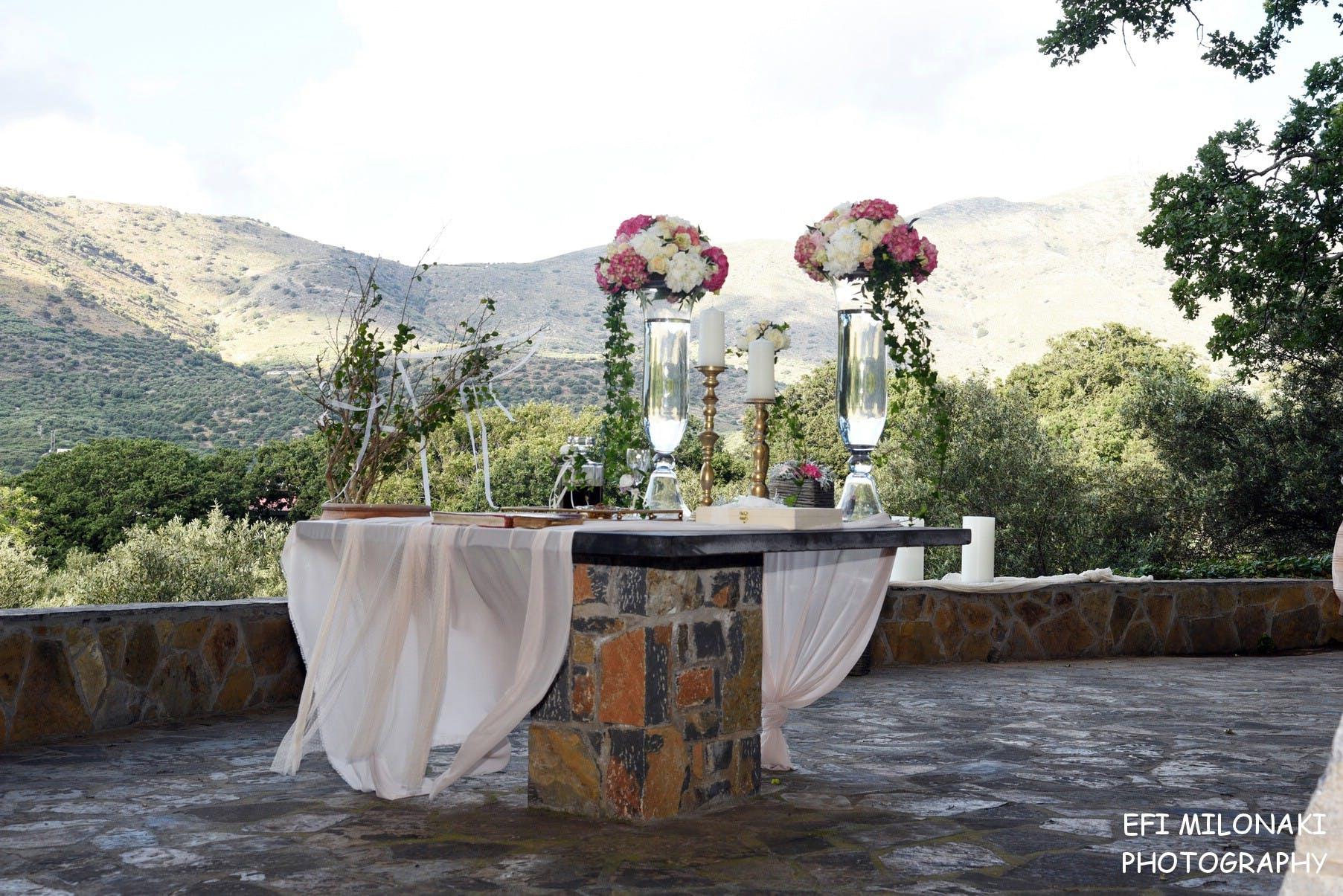 Γάμος & Βάπτιση στην Παναγία Κεραγωνιώτισσα