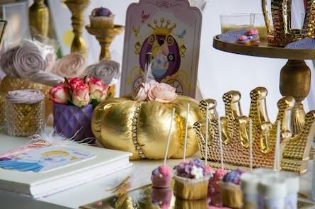 Η βάπτιση της Μαρίας με θέμα την Πριγκίπισσα